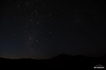Manto de estrellas sobre Bromo