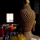 Buddha y monje