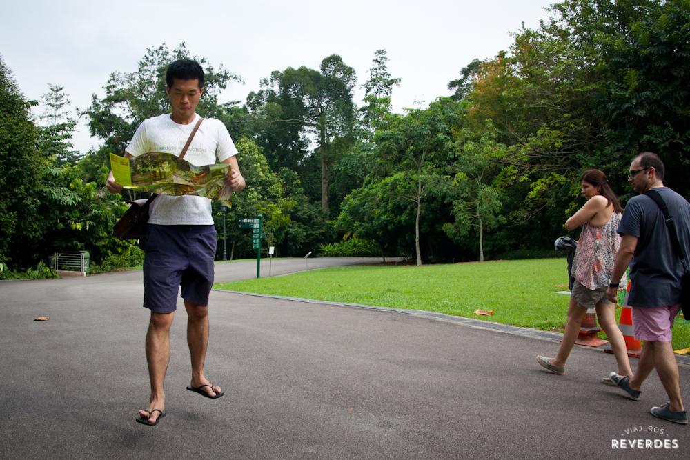 Yeski levitando en Orchid Park