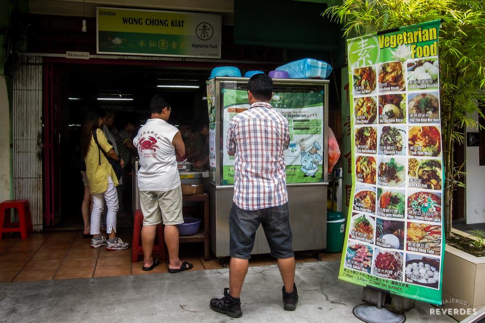 Wong Chong Kiat en Melaka