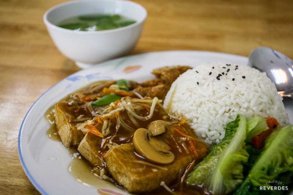 Zhu Yuan Vegetarian Restaurant en Penang