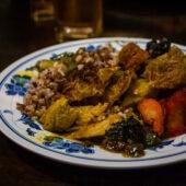 Buffet libre en Vegetarian Restaurant Muhiba, Kota Bharu