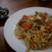 Noodles con vegetales