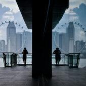 Simetría en Marina Barrage