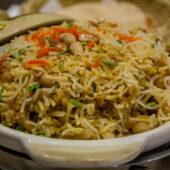 Claypot rice de Gokul Vegetarian Restaurant en Singapur