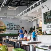 Fast food saludable en Vegan Burg