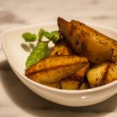 Tapa de patatas al horno en Real Food