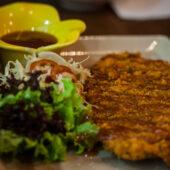 Tonkatsu en Bespoken Vegetarian Dining
