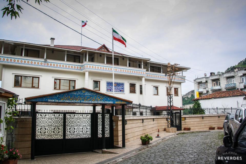 Embajada Iraní en Trabzon, Turquía