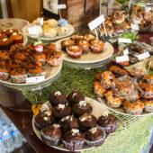 Magdalenas y cupcakes veganos en Blue Diamond