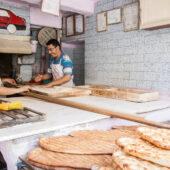 Panadería en Turquía, con las manos en la masa