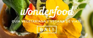 Wonderfood Bali, guía vegetariana y vegana de viaje