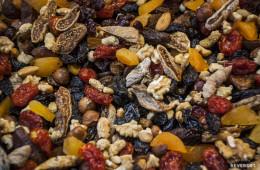 Mezcla de frutos y frutas secas