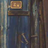 Detalle de puerta en Safranbolu