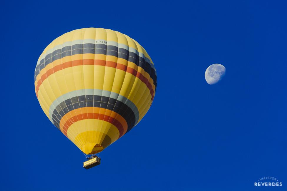 Capadocia desde el aire, viaje en globo