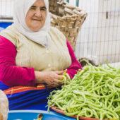 Vendedora de verdura