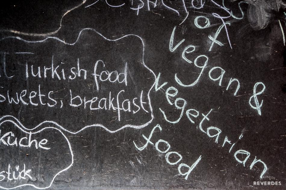 Ser vegano y vegetariano en Estambul