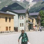 Anciana georgiana en Mestia