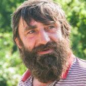 Hombre georgiano con barba