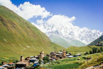 Ushguli, Svanetia, Georgia