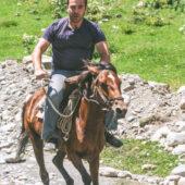 A caballo en Ushguli