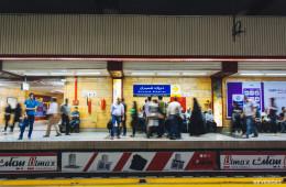 Metro en Tehran