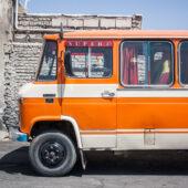 Buses locales iranís