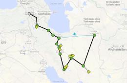 Itinerario Irán