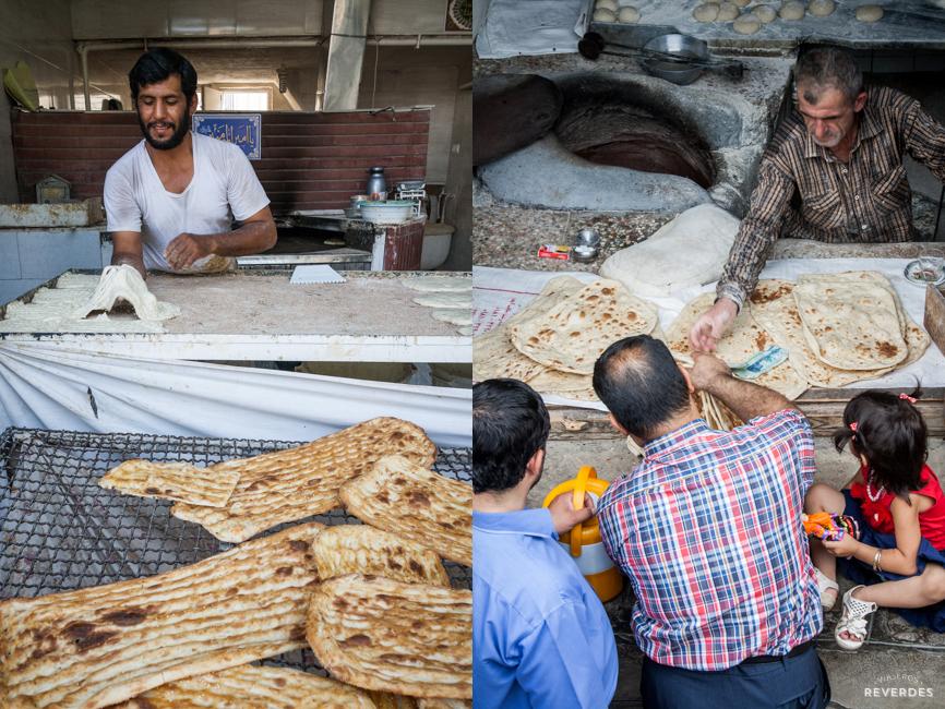Pan y más pan en Irán