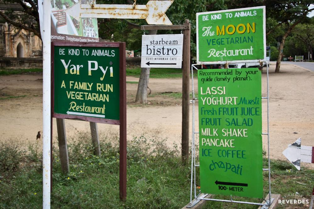 Restaurantes vegetarianos de Bagán