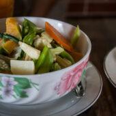 Comida tailandesa en Mandalay