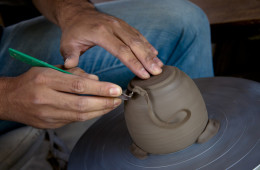 In Clay