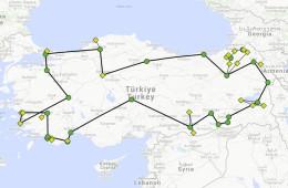 Itinerario Turquía