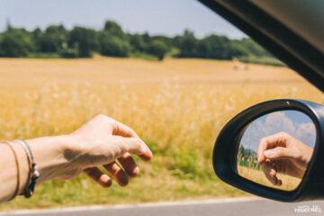 Conduciendo en la Toscana