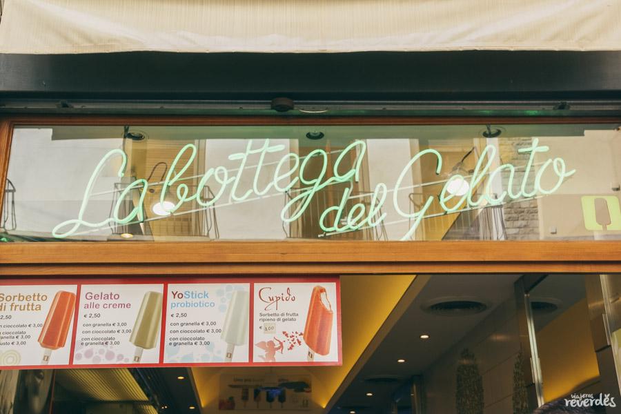 La Botegga del Gelato, Helados Stickhouse, Florencia, Italia