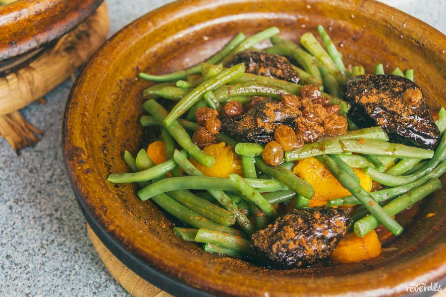 Tajine vegano en Marruecos