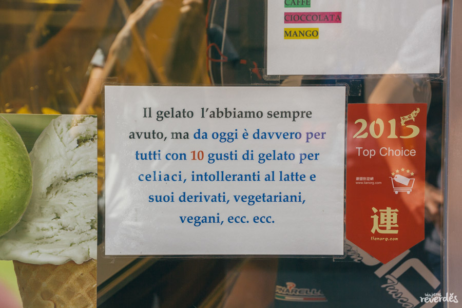 Gelateria dei Neri, Florencia, Italia