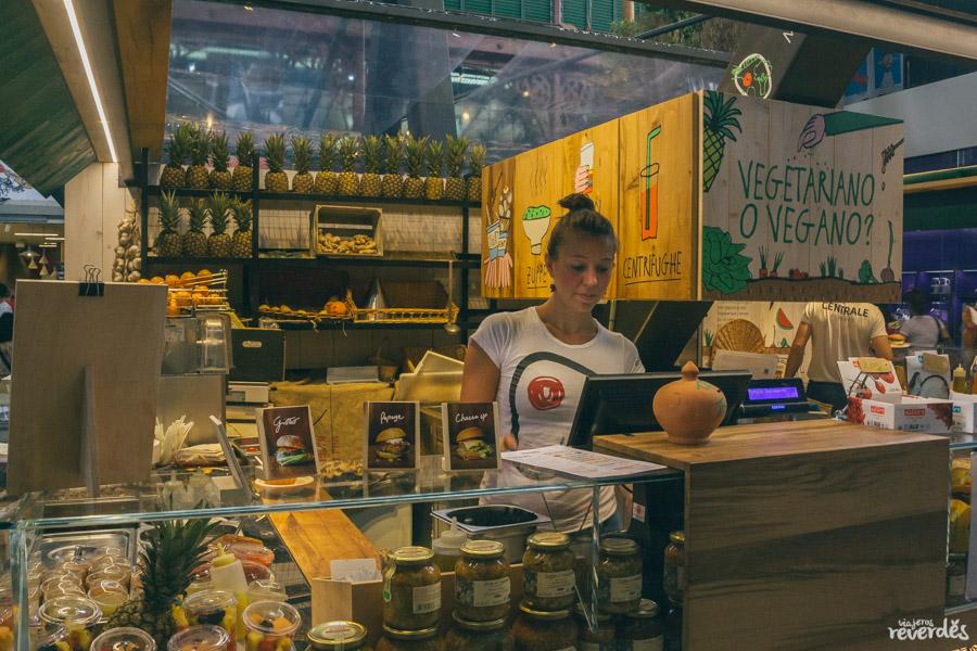 Veg&Veg (Mercado Central), Florencia, Italia