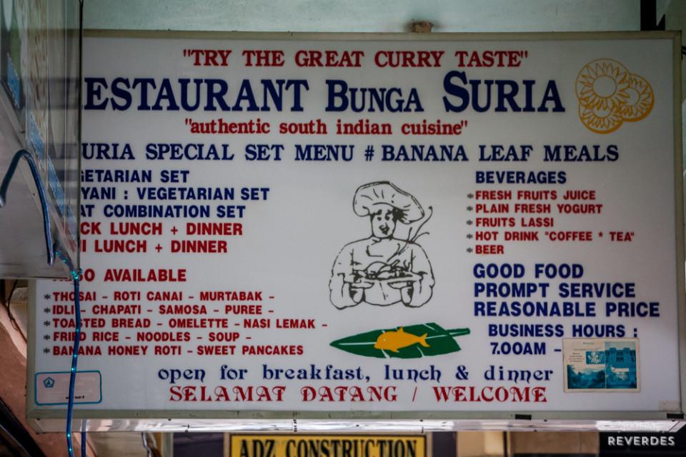 Restaurante Bunga Suria en Cameron Highlands