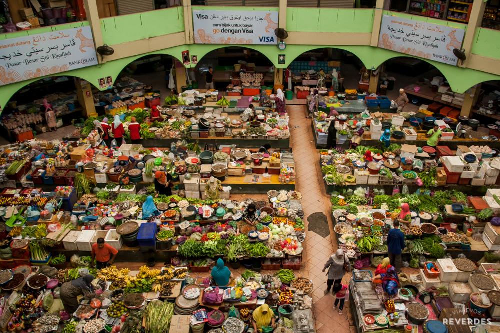 Mercado de Kota Bharu