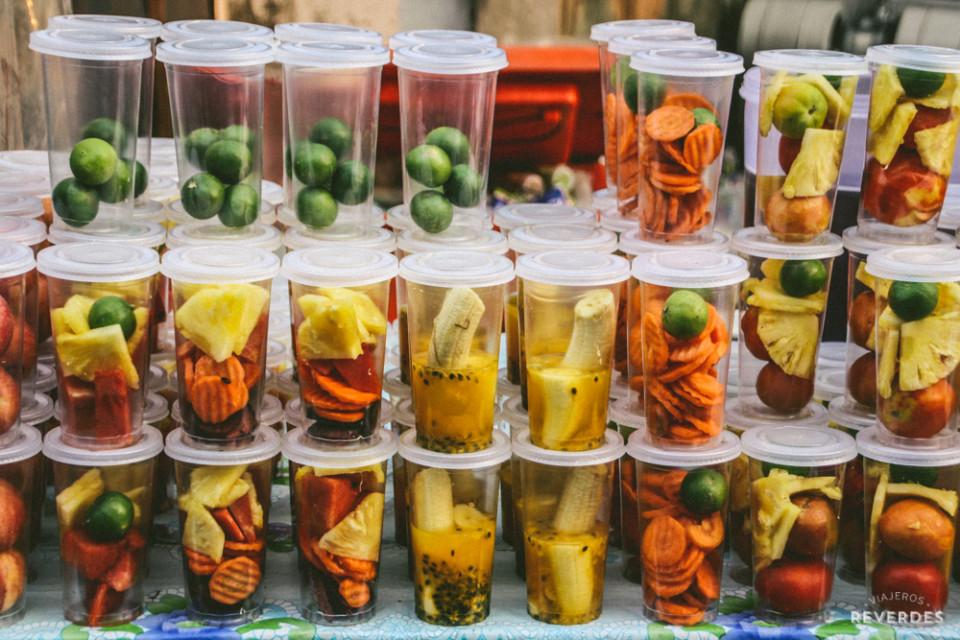 Frutas para llevar