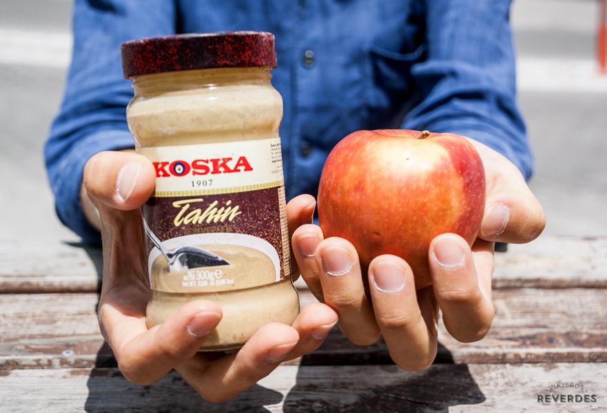 Tahini + Manzana