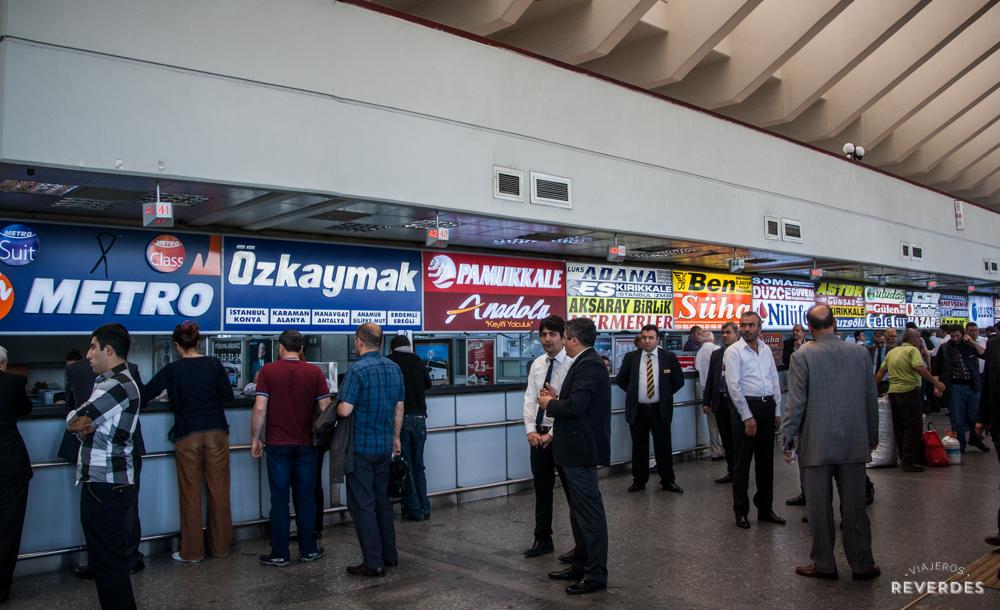 Compañías de bus en Turquía