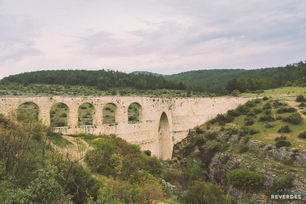 Acueducto de İncekaya, cerca de Safranbolu, Turquía