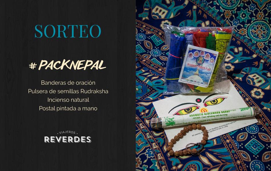 Sorteo #packnepal Viajeros Reverdes