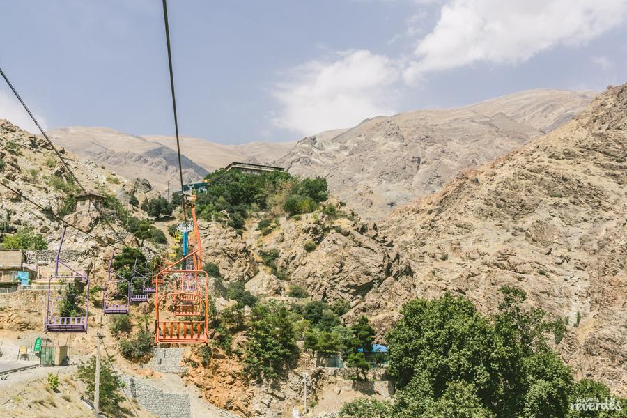 Salida a las montañas del norte de Teherán