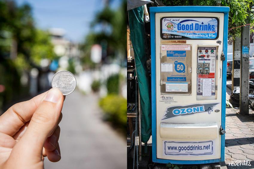 1 litro de agua por 1TH en Tailandia