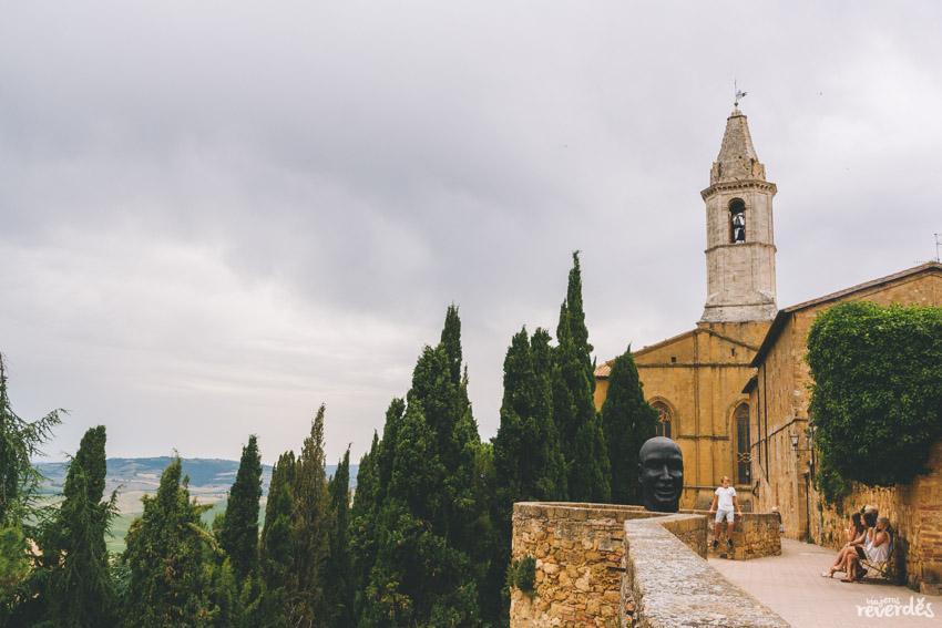 Pienza, Toscana, Italia