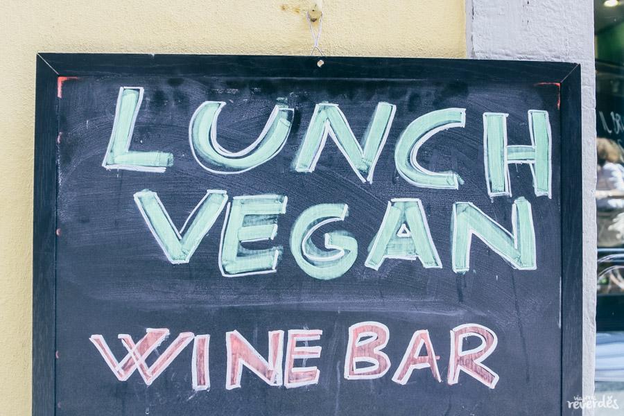 Restaurantes veganos y vegetarianos en Florencia, Italia