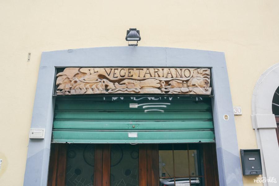 Il Vegetariano, Florencia, Italia